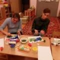 Мастер-класс «Рисуем пальчиками» (младшая группа)