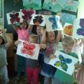 Фотоотчет о творческой мастерской «Нескучное лето» (старшая и подготовительная группа)