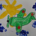 «Быстрокрылый самолёт». Рисование с использованием различных изобразительных средств (мастер-класс)