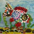 «Эта рыбка из мечты-небывалой красоты! …» Рисование с элементами аппликации в старшей логопедической группе (мастер-класс)
