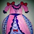 «Платье для Золушки». Изобразительная деятельность с детьми подготовительной логопедической группы