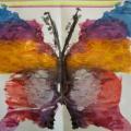 «Я не просто бабочка— я кусочек лета!» Нетрадиционная техника рисования с детьми подготовительной логопедической группы