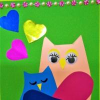 «Мама жизнь подарила мне и тебе!» Поздравительная открытка, изготовленная детьми старшей логопедической группы для мамы