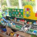 Уголок дорожного движения в детском саду оформление