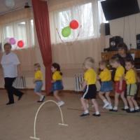Физкультурное развлечение во второй младшей группе «Теремок»