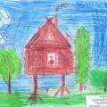 Фотоотчёт об участии в конкурсе детского творчества «По страницам любимых книг» в номинации «Детский рисунок»