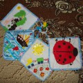 Развивающие мини-коврики своими руками