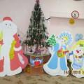 Новогодние утренники в детском саду «Светлячок»— фотоотчет