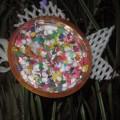 Мастер-класс по изготовлению елочной игрушки из бросового материала «Золотая рыбка»