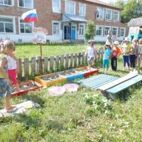 Оформление участка «Тропинка здоровья для детской площадки»