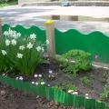 Наш прогулочный участок весной. Оформление участка и веранды в рамках проекта «Цветы вокруг нас»