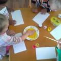 Фотоотчет о занятии по рисованию «Петушок-золотой гребешок»