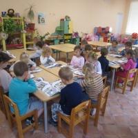 Фотоотчёт о подготовке и участии в конкурсе по ПДД.