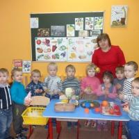 Фотоотчет об организованной образовательной деятельности по познавательному развитию детей младшего возраста «Дары осени»