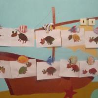 Фотоотчет о выставке поделок детей и родителей «Осенние фантазии»