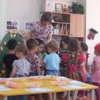 Конспект образовательной деятельности по экологическому воспитанию в средней группе «Овощи и фрукты— полезные продукты»