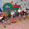 Открытие футбольной площадки в детском саду. Педагоги и дети на спортивной арене (фотоотчет)