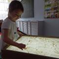 Фотоотчет о реализации проекта «Рисование картин песком на стекле»