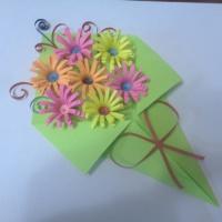 Мастер-класс «Объемная открытка к Дню матери»