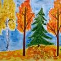 Конспект интегрированного занятия «Золотая осень»