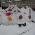 Зимние постройки в нашем саду