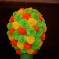 Чудо-дерево из бумаги, клея и воздушного шарика