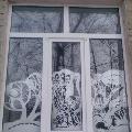 Узоры на окнах