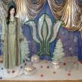 Оформление зала к Новому году по бажовским мотивам