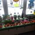 Конкурс огородов на подоконнике в детском саду.