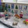 Оформление групп к новому году— Зимние сказки.
