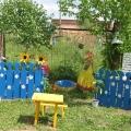 В нашем детском саду прошел конкурс «На лучшее оформление участка»