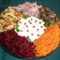 Салат «Русские горки»