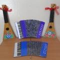 Игрушки-самоделки для музыкального уголка
