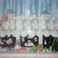 Оформление зимнего окна «Волшебная сказка»