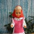 Кукла Салика в марийском костюме