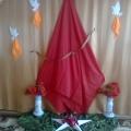 Торжественное построение к Дню Победы в детском саду (старшая и подготовительная к школе группа)