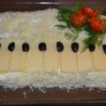Салат «Белый рояль». Рецепт