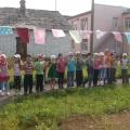 Сценарий физкультурно-оздоровительного мероприятия для детей старшего дошкольного возраста «Солнышко и дождик» (фотоотчет)