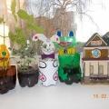 Оформление зимнего огорода