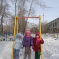 Прогулка после долгой холодной зимы