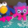 Вязанные игрушки для детей