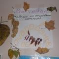 Выставка поделок из природного материала, изготовленных родителями воспитанников в 2012 году