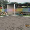 Предметно-развивающая среда на участке ДОУ «Сетка волейбольная»