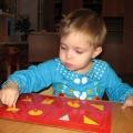 Сенсорное развитие детей раннего возраста на основе игры «Рамки и вкладыши М. Монтессори»