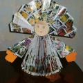 Красавица матрёшка из журналов (мастер-класс)