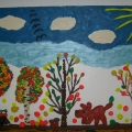Пластилинография «Наш осенний лес!»