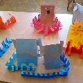 «Детки в клетке». Зоопарк из цветной бумаги.
