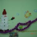 Наш весёлый Снеговик.