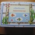 «Рыболов». Дидактическая игра для развития зрительного восприятия, произвольного внимания, памяти и логического мышления