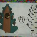 Самодельное дидактическое пособие «Кто живет в лесу?» для младшего дошкольного возраста